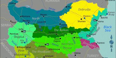 Karte Bulgarien.Karte Von Bulgarien Karten Bulgarien Osteuropa Europa
